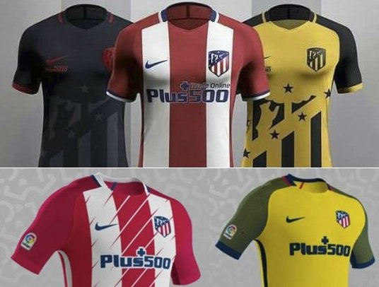 La posible equipación del Atlético de cara a la próxima temporada  ab86c13e28c27