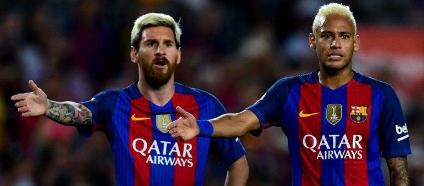 Messi no coincidirá con su compañero Neymar mañana en el césped de Los Cármenes. Foto: Twitter.
