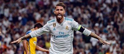 Ramos ya sabía lo que era marcar de chilena