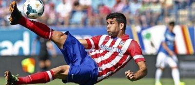 Diego Costa, en su etapa como jugador rojiblanco. Foto: @players_futbol.