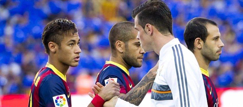 Neymar y Bale en un Clásico. Foto: Marca.
