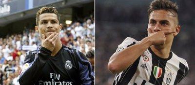 Cristiano Ronaldo y Dybala, dos de los grandes protagonistas mañana en Cardiff.
