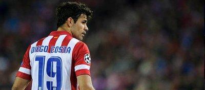 Costa, muy cerca de volver al Atlético. Foto: Twitter.