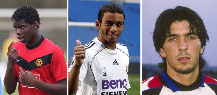 Los cambios de 'look' más sorprendentes en el mundo del fútbol