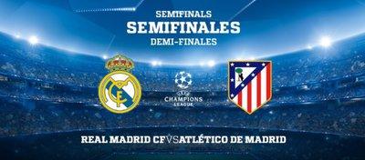 Real Madrid y Atlético volverán a cruzarse en Champions. Foto: Atlético de Madrid.