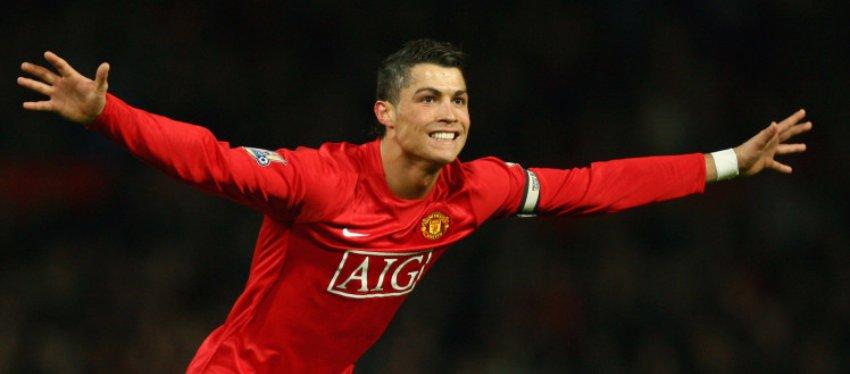 Cristiano Ronaldo, en su etapa en el Manchester United. Foto: Metrouk.