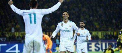 Cristiano se reencuentra con el gol en Alemania. Foto: Twitter.