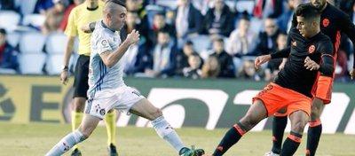 Celta y Valencia se verán las caras en el primer duelo del año. Foto: Twitter.