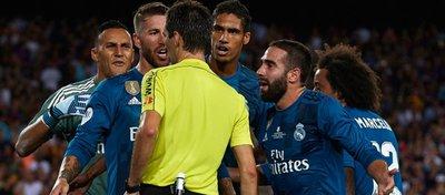 El Madrid sigue indignado por el arbitraje del pasado domingo. Foto: Twitter.