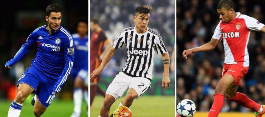 Hazard, Dybala y Mbappé. Tres de los nombres que más suenan para el Real Madrid.