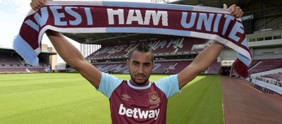 Payet, cansado de defender los colores del West Ham. Foto: Getty Images.