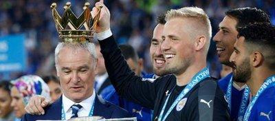 Ranieri, campeón con el Leicester City la pasada temporada. Foto: Twitter.