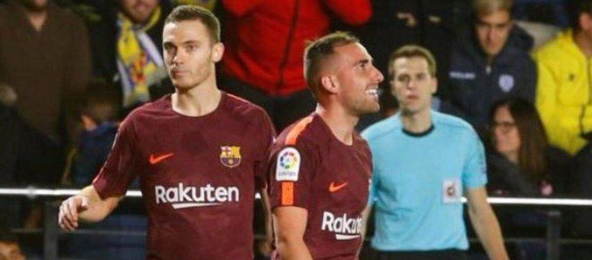 Vermaelen y Alcácer, dos de las sorpresas del mes de diciembre. Foto. Twitter.