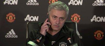 Mourinho, siempre impredecible. Foto: Youtube.
