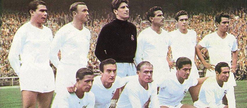El Madrid del año 1958 fue el último el lograr Liga y Copa de Europa en una misma temporada. Foto: As.