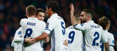 El Madrid puso tierra de por medio en la eliminatoria ante un Nápoles que llegaba en un gran momento de forma. Foto: Twitter.