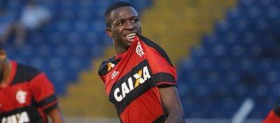 Vinicius Junior, jugador del Flamengo. Foto: Twitter.