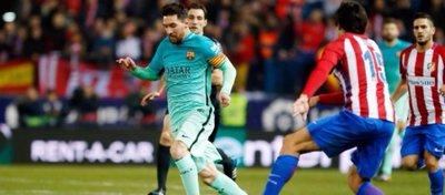 Leo Messi volvió a ser determinante en la victoria del Barça. Foto: FC Barcelona.