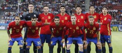 La selección sub-21, a un solo partido de reinar en Europa. Foto: Twitter.