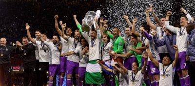 El Real Madrid, campeón de la Champions 2016-17. Foto: Twitter.