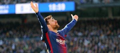 Leo Messi volvió a brillar en el Bernabéu. Foto: Twitter.