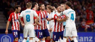 Real Madrid y Atlético ven ya muy lejos al Barça. Foto: Twitter.
