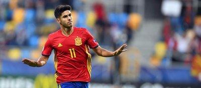 Asensio, la gran estrella de la selección española sub-21. Foto: Twitter.