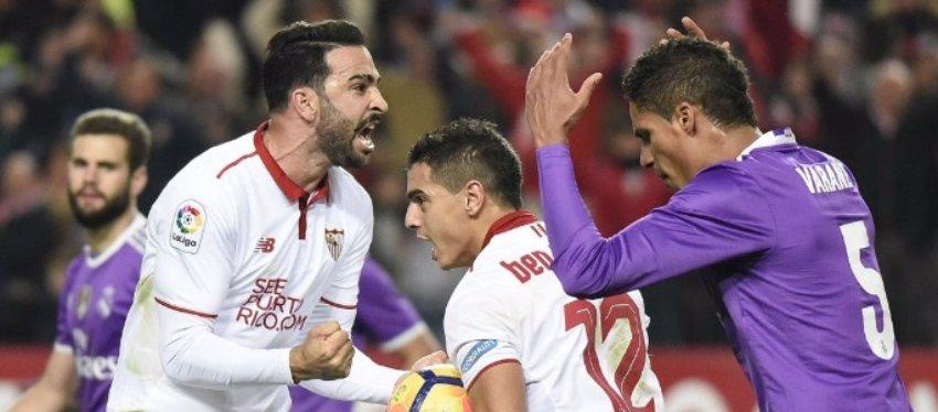 El Sevilla volvió a poner LaLiga al rojo vivo. Foto: @josemarifc.
