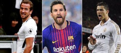 Harry Kane rompe la dictadura de Cristiano y Messi