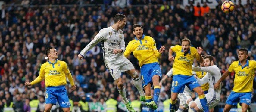 Cristiano Ronaldo tiró del carro para salvar un punto que supo a poco para el Madrid. Foto: Real Madrid.
