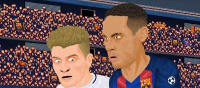 La parodia más divertida del 6-1 del Barça al PSG
