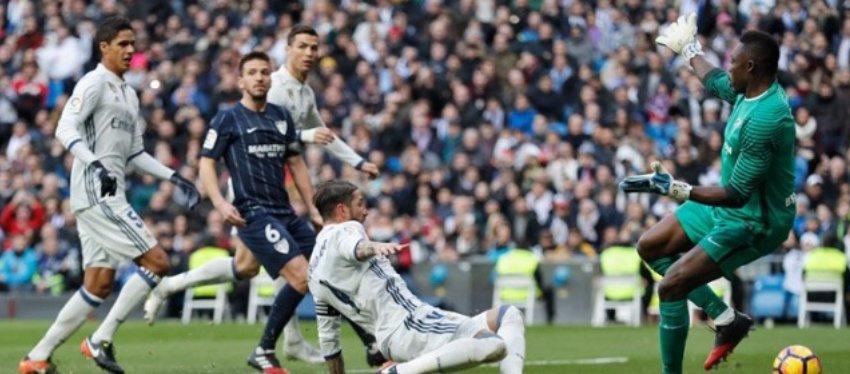 Ramos se ha convertido en el líder goleador del Madrid en defensa. Foto: Real Madrid.