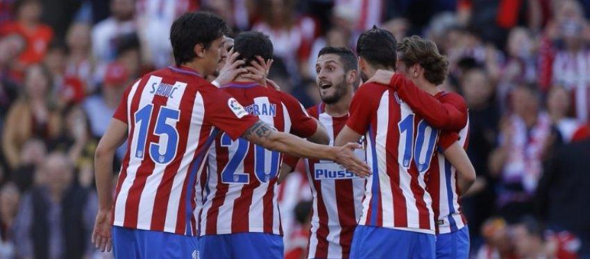 El Atlético quiere seguir entre los mejores con varias caras nuevas de cara a la próxima temporada. Foto: Twitter.