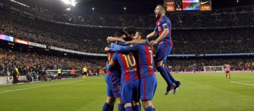 El Barça sufrió, pero estará en la final de la Copa del Rey. Foto: El Mundo Deportes.