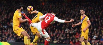 Giroud se ha convertido en el gran protagonista de la Premier en este comienzo de año. Foto: ESPN.