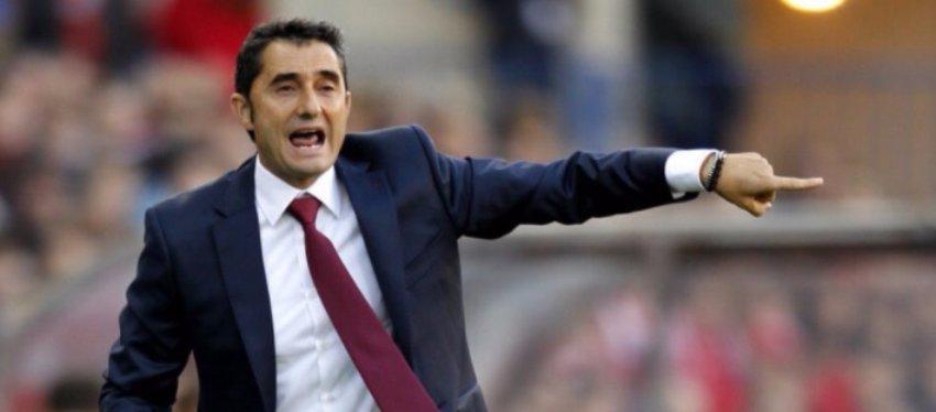 Valverde podría ser el próximo entrenador del FC Barcelona. Foto: Twitter.