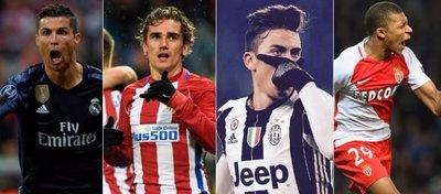 Los cuatro grandes favoritos para estar en las semifinales de Champions.