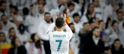 Cristiano, desde hoy leyenda e historia del Real Madrid. Foto: Real Madrid.