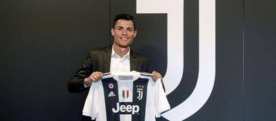 Fotomontaje de Cristiano con la camiseta de la Juventus. Foto: Twitter.