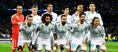 El once del Real Madrid anoche ante la Juventus. Foto: Twitter.