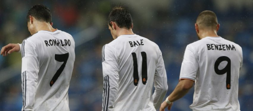 La BBC volverá el domingo ante el Deportivo de la Coruña. Foto: Libertad Digital