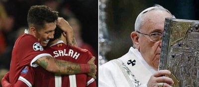 Si el Liverpool gana la Champions el Vaticano tiembla