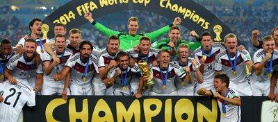 Alemania, vigente campeona del Mundial. Foto: FIFA.