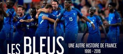 Les Bleus, el documental de la selección francesa sobre el camino hacia su segundo Mundial. Foto: Twitter.