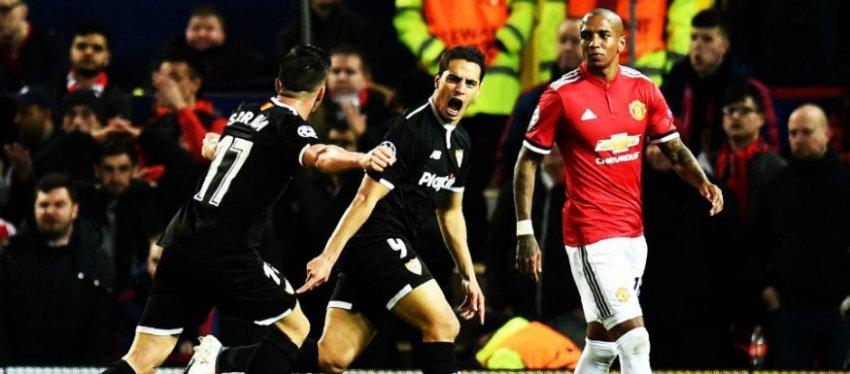 El Sevilla hizo historia en Champions. Foto: @invictossomos.