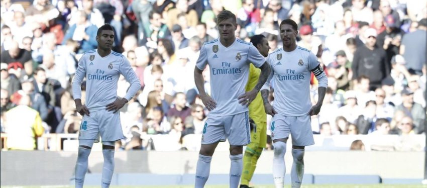 El Real Madrid sería líder sin las segundas partes. Foto: Twitter.
