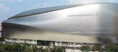 Así será el nuevo estadio del Real Madrid. Foto: Twitter.