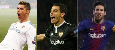Madrid, Sevilla y Barça, nuestros representantes en los cuartos de Champions.
