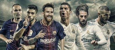Barcelona y Real Madrid volverán a acaparar el fin de semana. Foto: @minutofinal.