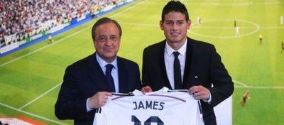 James Rodríguez, el último gran desembolso del Madrid en el año 2014. Foto: elcomercio.pe